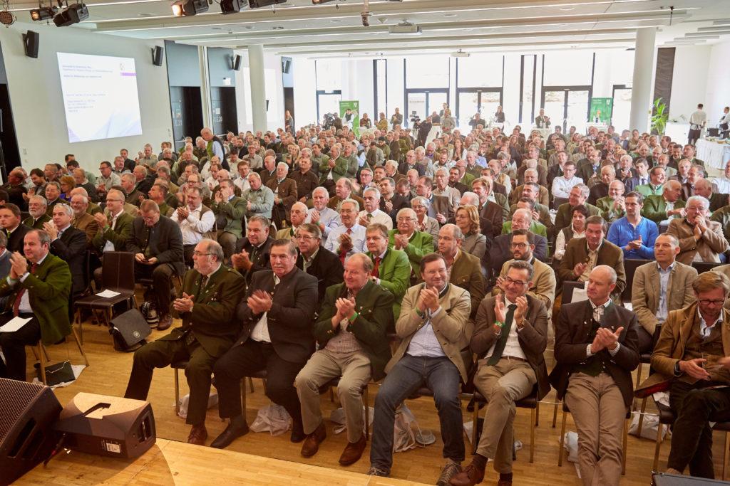Publikum beim Niederwildgipfel des NÖ Jagdverbandes